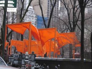 Central Park - projekt The Gates 02'2005