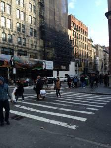 skrzyżowanie Broadway i Spring St. na Soho