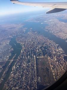 Manhattan z samolotu