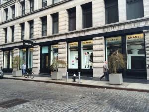 butik Chanel na Soho